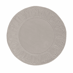 "GG Collection 14"" Stone Medallion Ceramic Charger Plate"