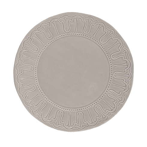 """GG Collection 14"""" Stone Medallion Ceramic Charger Plate"""