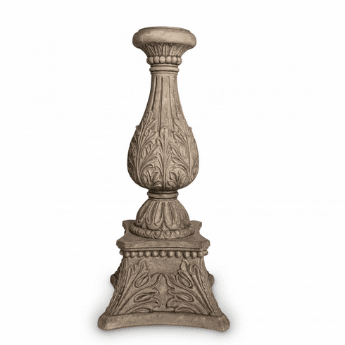 """GG Collection 36"""" Floor Candlestick Cast Stone"""