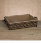 GG Collection 9.5 X 14 Rectangular Ogee-G Baker Taupe
