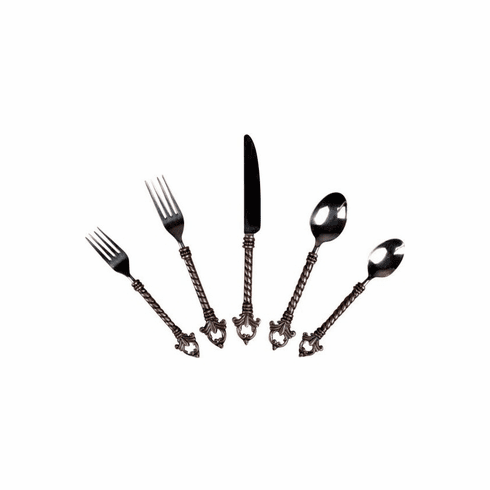 GG Collection Fleur Stainless Steel Flatware