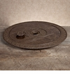 GG Collection Gracious Goods Large Marble Top Lazy Susan
