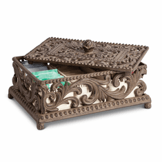 GG Collection Gracious Goods Tea Box with Ceramic Inserts