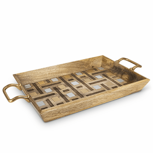 GG Collection Inlay Laser Weave 27 Tray