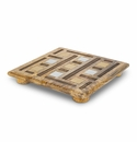 GG Collection Inlay Laser Weave Square Trivet