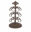 GG Collection Metal Acanthus Leaf Spinning Coffee Pod Holder