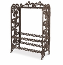 GG Collection Metal Acanthus Leaf Wine Rack