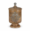 GG Collection Wood And Metal Medium Canister
