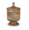 GG Collection Wood And Metal Small Canister