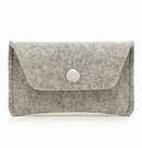 Graf Lantz Felt Card Case Granite