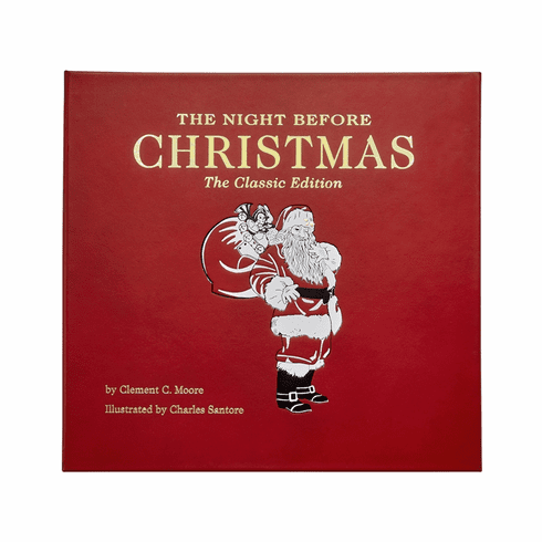 Graphic Image Night Before Christmas Book Red