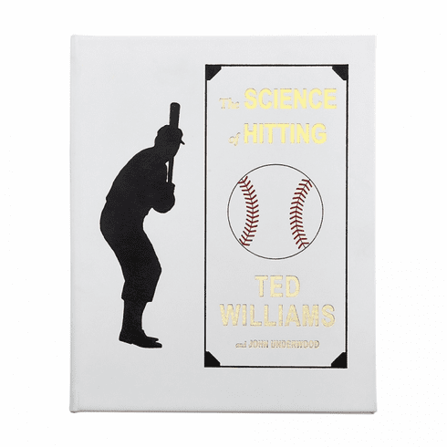 Graphic Image The Science of Hitting Ted Williams Book