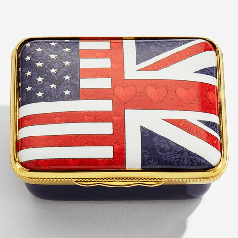 Halcyon Days A Very Special Relationship Enamel Box