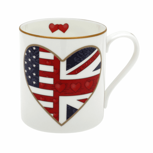 Halcyon Days A Very Special Relationship Heart Mug
