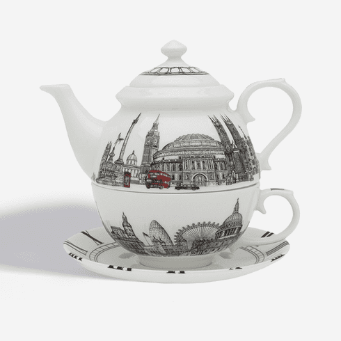 Halcyon Days The London Icons Tea for One