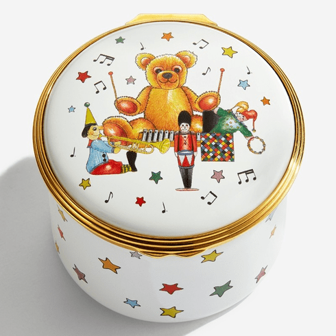 Halcyon Days Twinkle Twinkle Little Star Musical Enamel Box