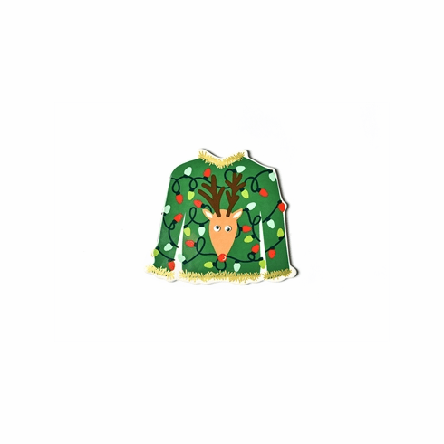 Happy Everything 2019 Holiday Party Ugly Sweater Big Attachment