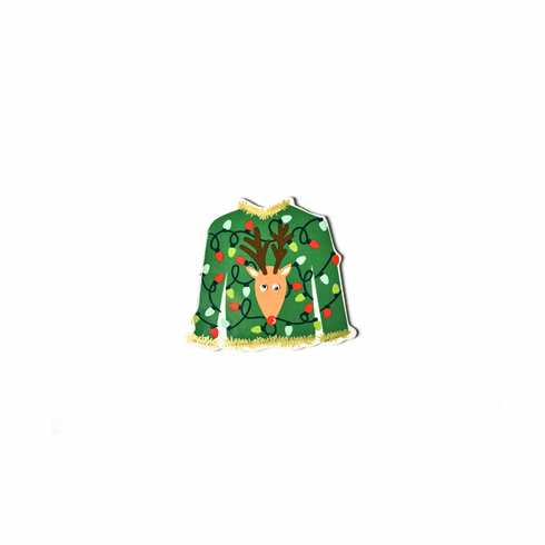 Happy Everything 2019 Holiday Party Ugly Sweater Mini Attachment