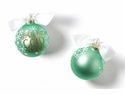Happy Everything Baby Its Cold Outside 100MM Glass Ornament