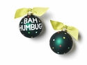 Happy Everything Bah Humbug 100MM Glass Ornament