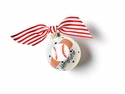 Happy Everything Baseball and Bat 65MM Ornament