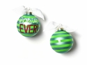 Happy Everything Best Day Ever 100MM Glass Ornament