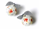Happy Everything Chinese Lanterns 100MM Glass Ornament