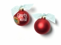 Happy Everything Empty Nesters 100MM Glass Ornament