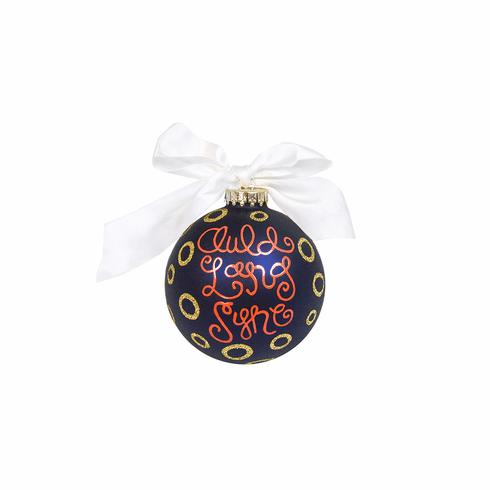 Happy Everything Glass Ornament - Auld Lang Syne