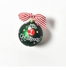 Happy Everything Glass Ornament - My First Christmas Ornament Girl