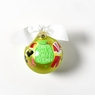 Happy Everything Glass Ornament - Santa Claus is Coming to Town