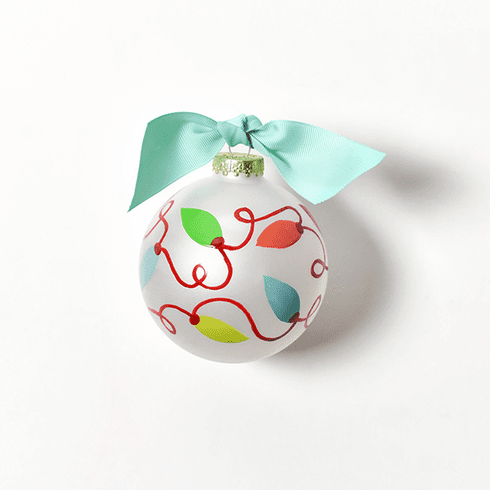 Happy Everything Glass Ornament - Twinkle Lights