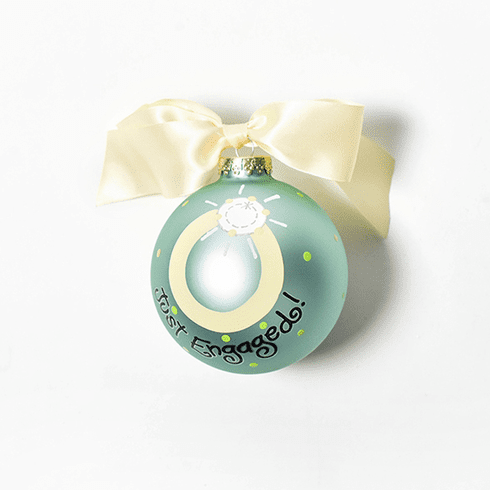 Happy Everything Just Engaged Ornament