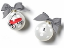 Happy Everything Limited Edition 2019 St Jude Red Wagon 100MM Glass Ornament