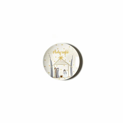 Happy Everything Neutral Nativity 8 Salad Plate