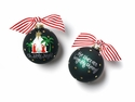 Happy Everything Oh Holy Night 100MM Glass Ornament