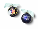 Happy Everything Out in Space 100MM Glass Ornament