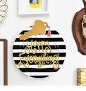 Happy Everything Plates and Home Decor with Attachments from Coton Colors