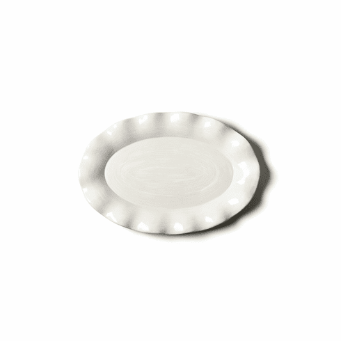 Happy Everything Signature 15 Oval Platter White