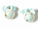 Happy Everything Twinkle Twinkle Little Star 100MM Glass Ornament