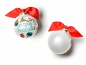 Happy Everything Vintage Ornaments 100MM Glass Ornament