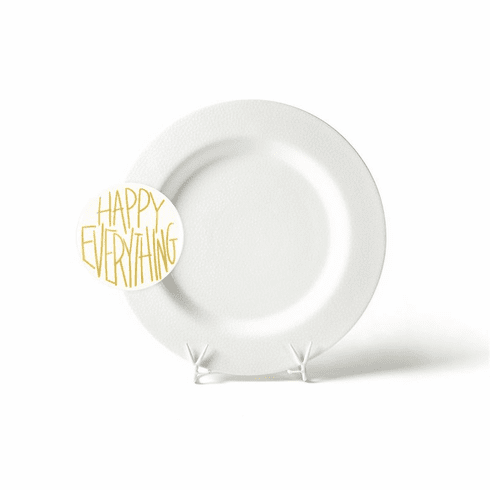 Happy Everything White Small Dot Big Platter With Attachment