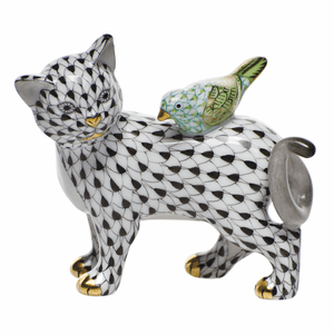 Herend Porcelain Cat Figurines