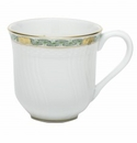 Herend Porcelain Chinese Bouquet Garland Green Mug (10 Oz) 3.5H - Green