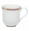 Herend Porcelain Chinese Bouquet Garland Pink Mug (10 Oz) 3.5H - Raspberry