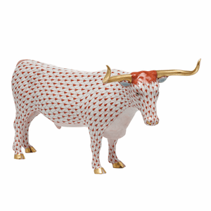Herend Porcelain Cow Figurines