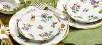 Herend Porcelain Figurines and Dinnerware