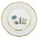 Herend Porcelain Fodos Bread And Butter Plate - Mo 02 6D