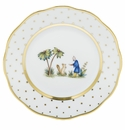 Herend Porcelain Fodos Bread And Butter Plate - Mo 03 6D