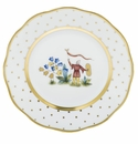 Herend Porcelain Fodos Bread And Butter Plate - Mo 04 6D